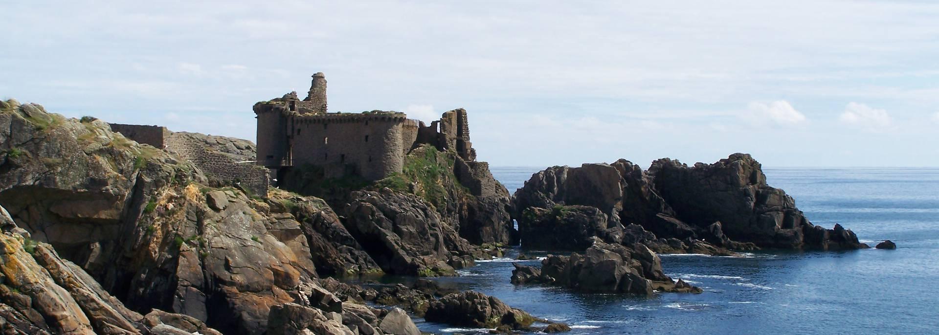 Le Vieux Château, Ile d'Yeu © F. Guerineau / OT île d'Yeu
