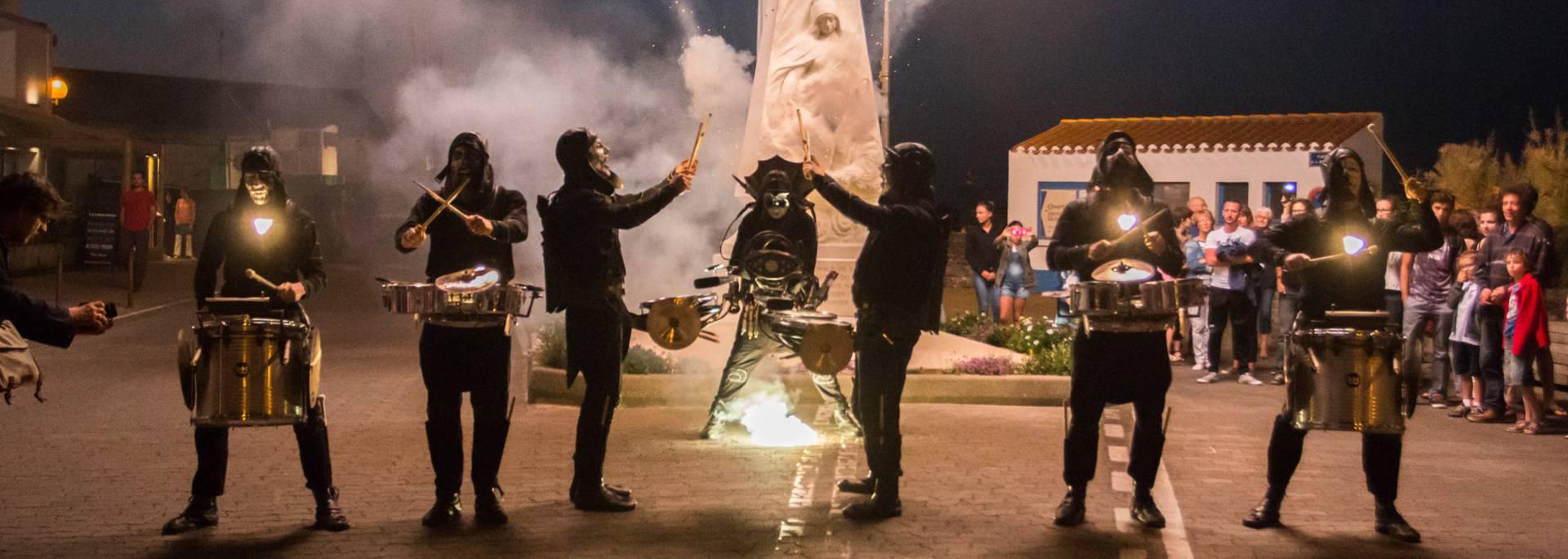 Su à feu, spectacle été 2017, Ile d'Yeu