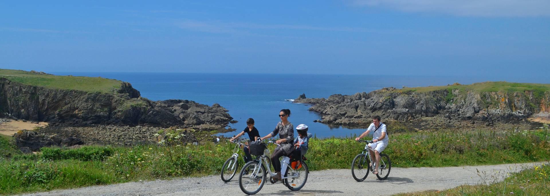 Balade à vélo- Côte rocheuse, Ile d'Yeu