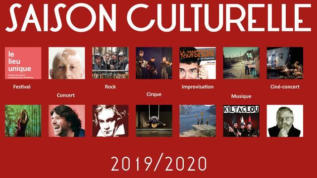 Saison culturelle 2019-2020 à l'île d'Yeu. Découvrez le programme et abonnez-vous