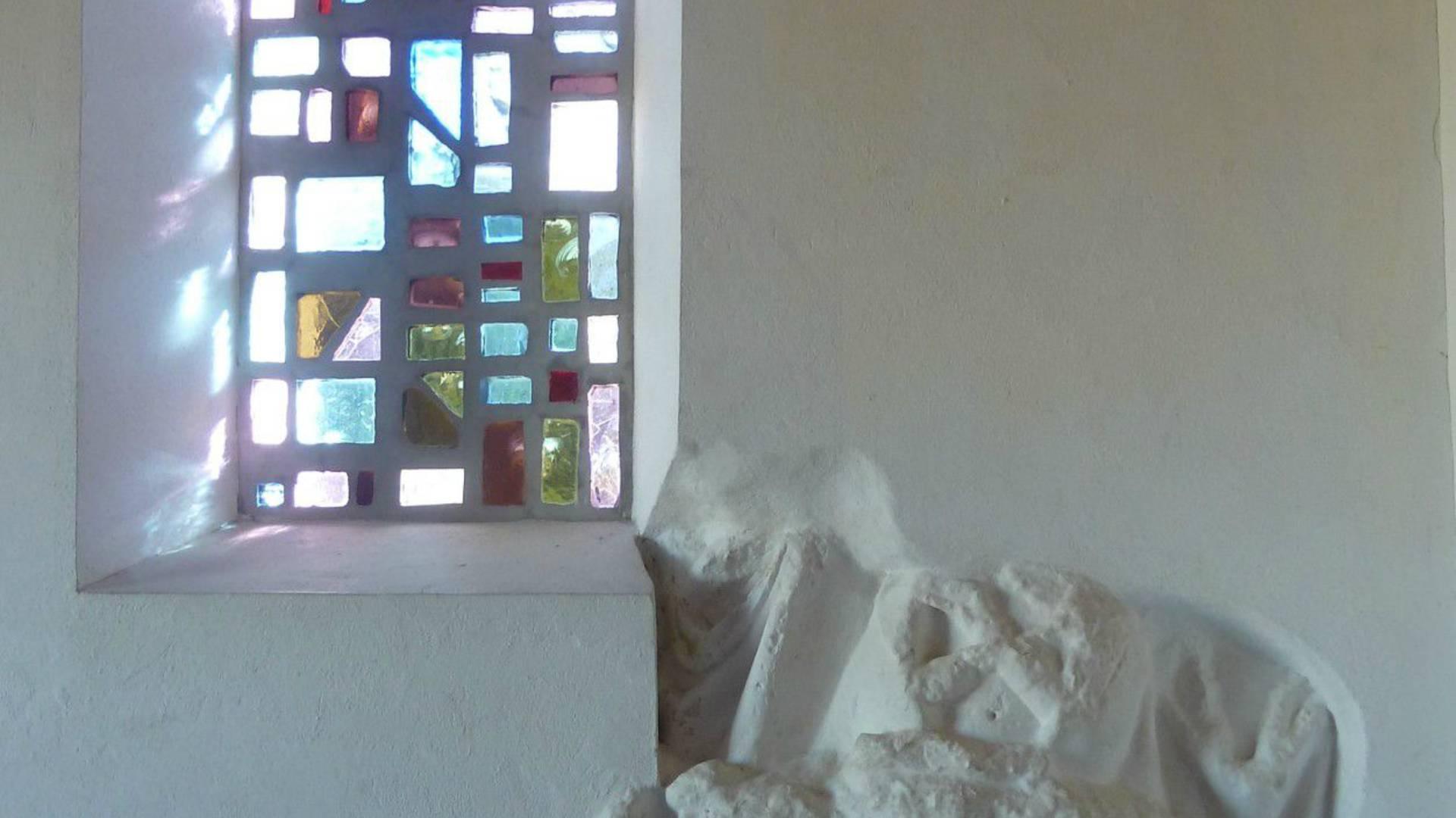 Chapelle ND du Calvaire, Père de Montfort, Ile d'Yeu