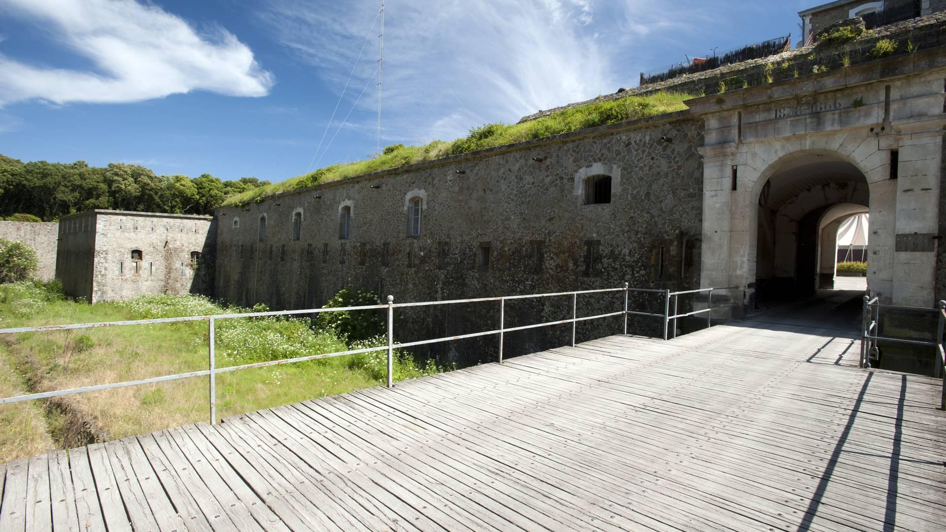 La Citadelle, Fort de la Pierre Levée, Ile d'Yeu