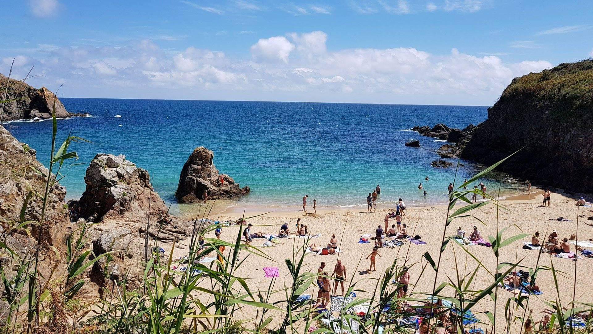 La plage des Soux, Ile d'Yeu