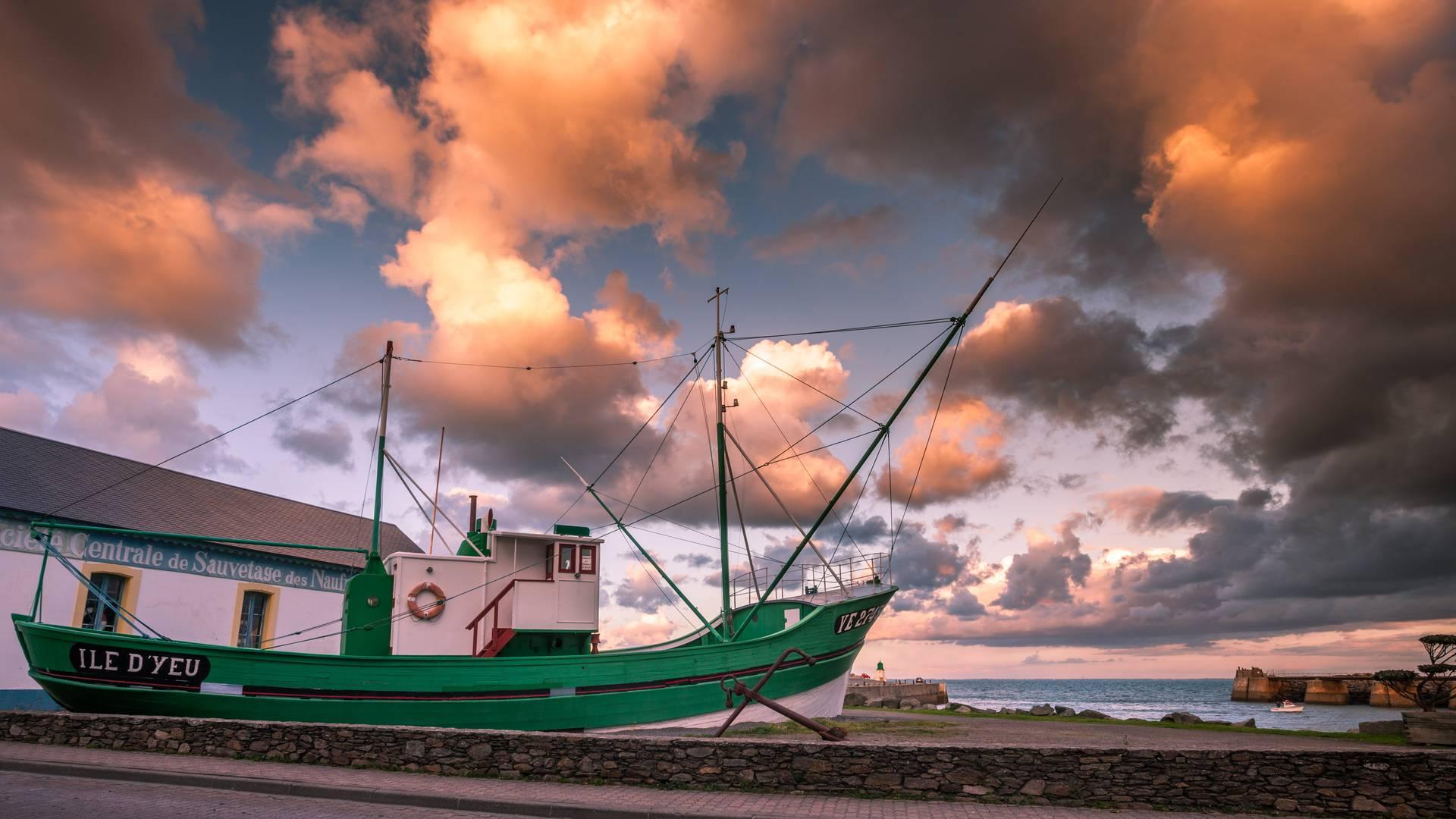 Thonier, Le Corsaire, Ile d'Yeu