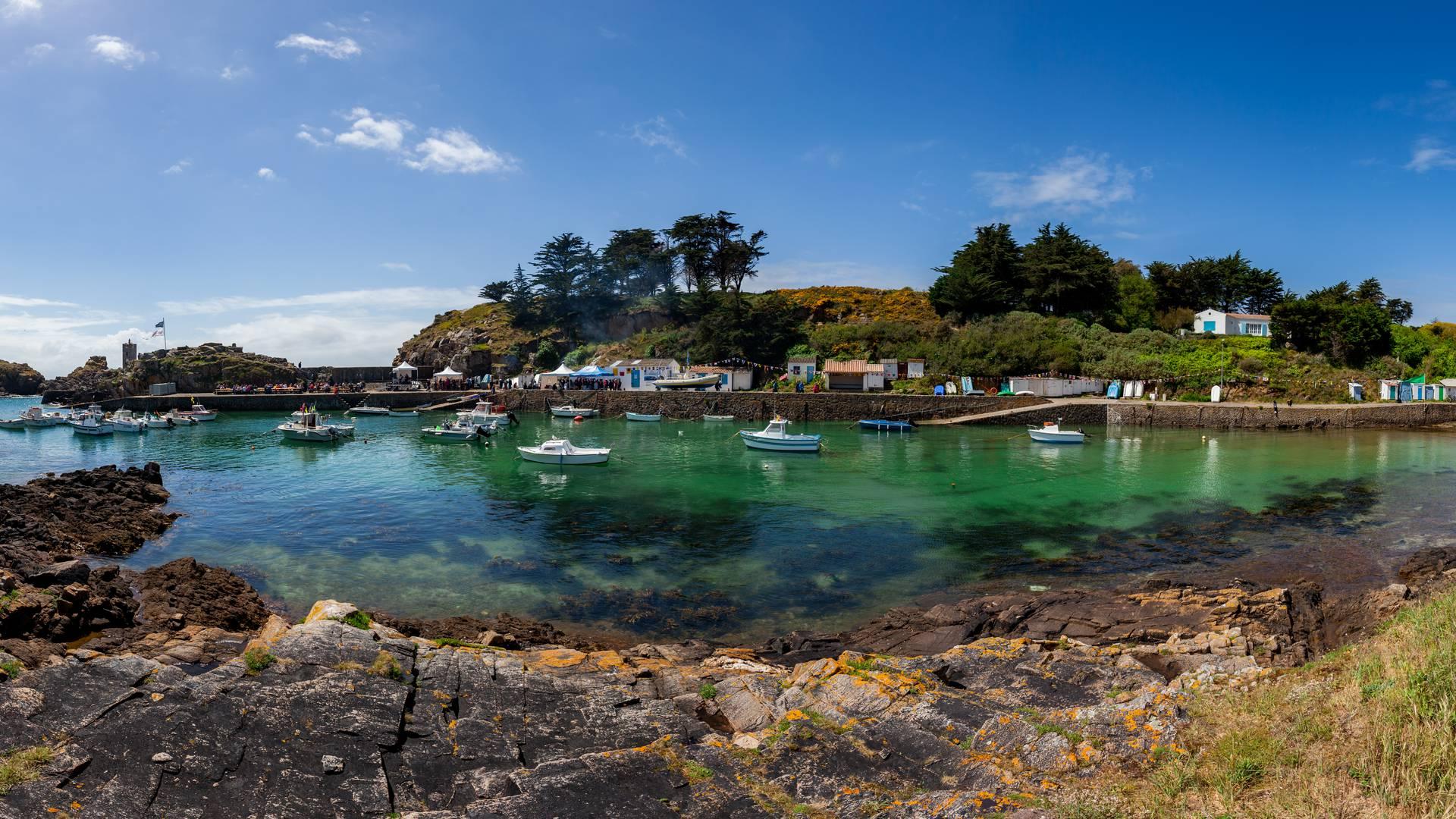 Port de la Meule © R. Laurent - OT île d'Yeu