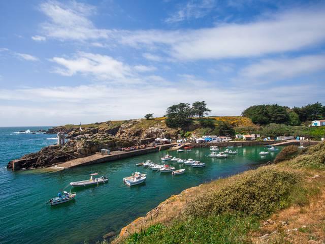Le Port de la Meule à L'île d'Yeu