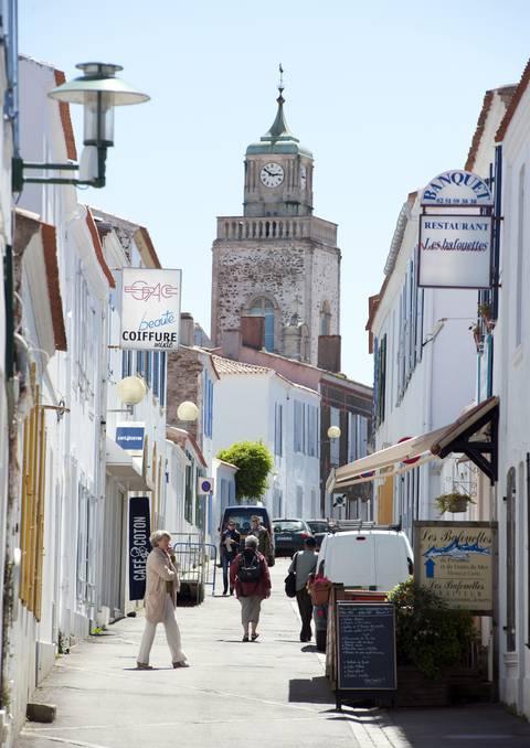 Les Rues du Port - Ile d'Yeu