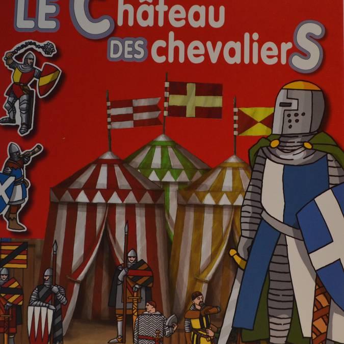 •Château et chevaliers, colle et décolle, (5.50 €)