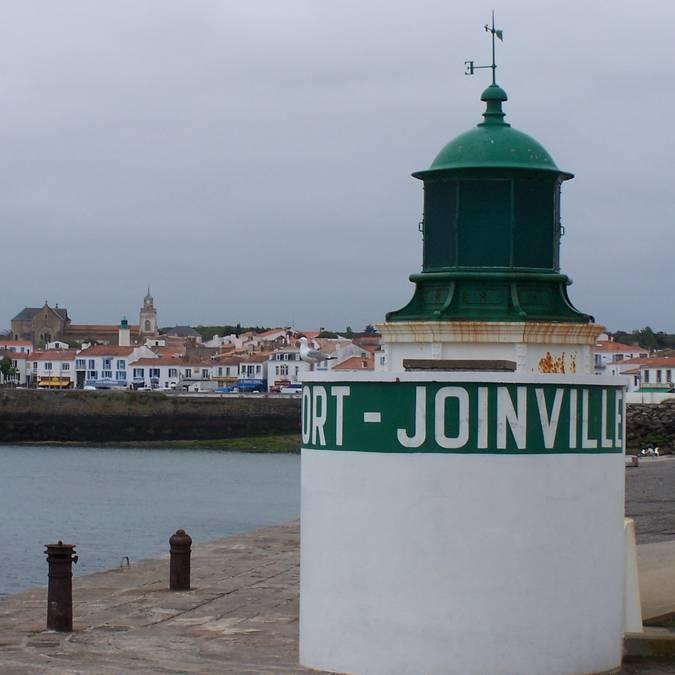 Le phare de la Jetée, Port-Joinville, Ile d'Yeu