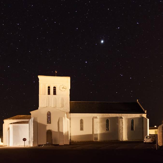 Eglise de St Sauveur, Ile d'Yeu