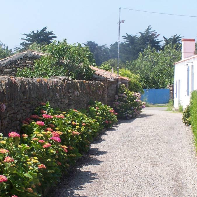 Les rues de Saint Sauveur, Ile d'Yeu