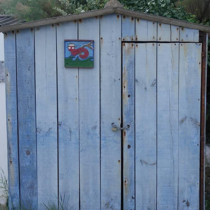 Les cabanes de pêcheur du port de la Meule, Ile d'Yeu