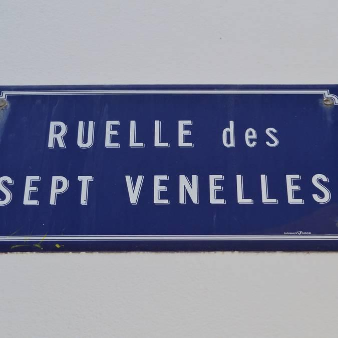 Les rues de Port-Joinville, Ile d'Yeu